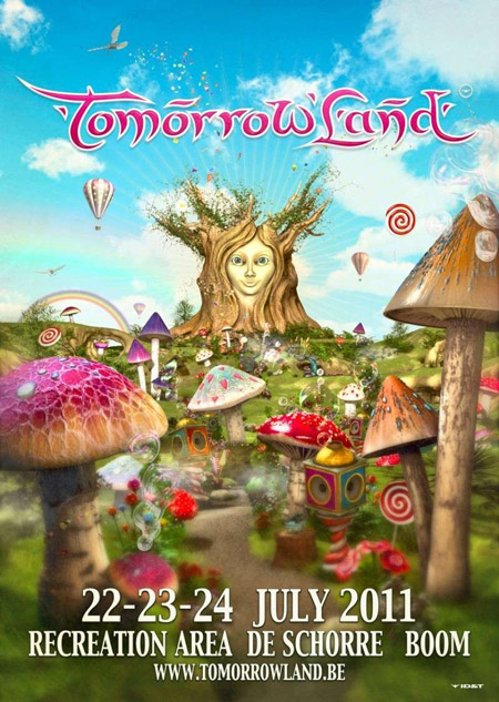 Tomorrowland 2011 (All Mixes  - Adam Beyer, Carl Cox, Chuckie, Dirty South, Fedde Le Grand, Hardwell, Rank 1 & Many others) - July 2011