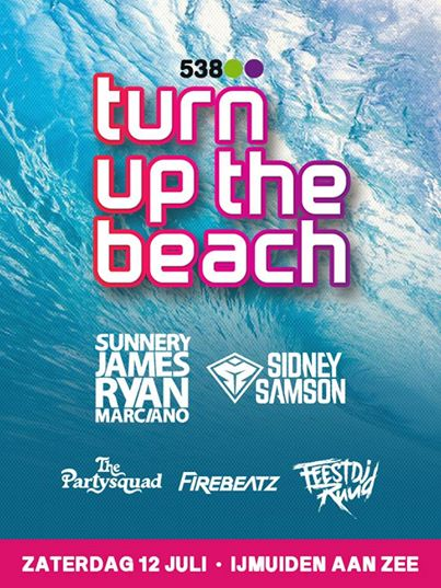 download → Fedde Le Grand, Firebeatz, Gregor Salto, Mightyfools, Sidney Samson, Sunnery James and Ryan Marciano, The Partysquad - Live at 538 Turn Up The Beach 2014 (audio only) - 12-Jun-2014