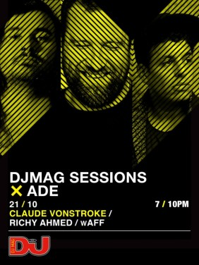 download → wAFF - live at DJ Mag Sessions (Amsterdam, ADE 2016) - 21-Oct-2016