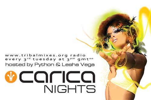 Carica Nights :: Episode aired on September 22, 2009, 6pm banner logo