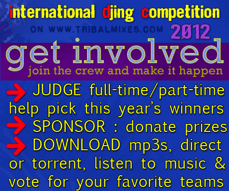International DJ-ing Competition 2012 on Tribalmixes.com