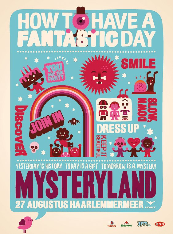 Fedde Le Grand, Joris Voorn, Chocolate Puma, Martin Solveig and More - Live at Mysteryland Festival - 27-Aug-2011