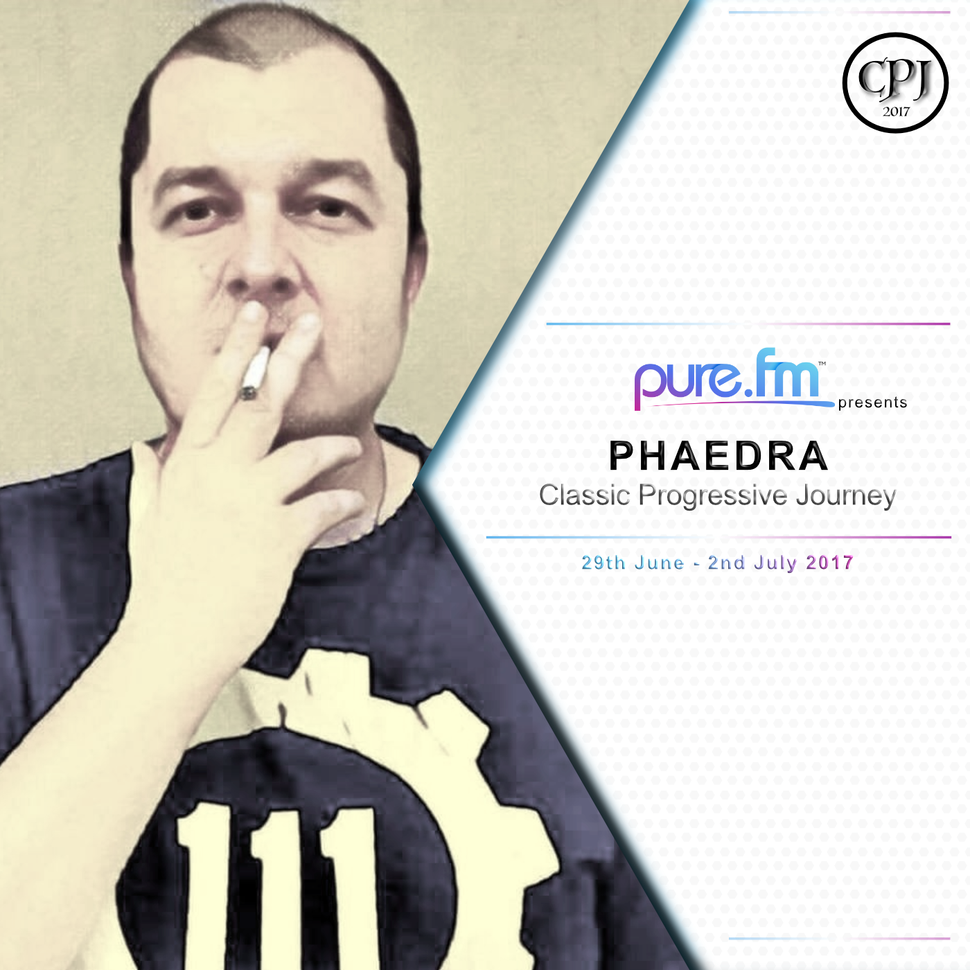 Phaedra - Classic Progressive Journey on Pure.FM (Guest Mix) - 29-Jun-2017