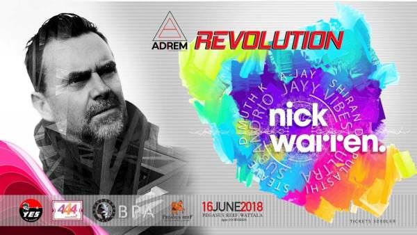 Nick Warren - Live at Revolution (Sri Lanka) - 16-Jun-2018