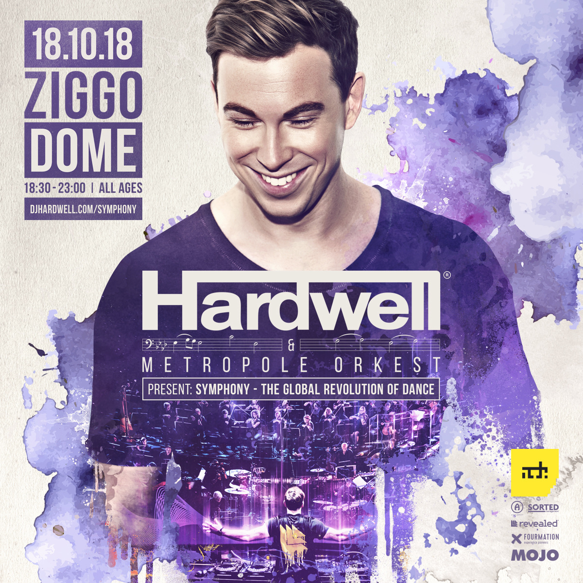 Hardwell & Metropole Orchestra - Symphony - The Global Revolution of Dance, 1080p Stream - 18-Oct-2018