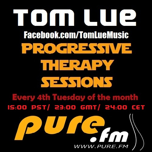 Tom Lue - Progressive Therapy Sessions 028 on Pure.FM - 25-Dec-2012