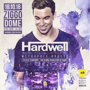 Hardwell & Metropole Orchestra - Live at Symphony: The Global Revolution of Dance, Ziggo Dome (ADE 2018) - 18-Oct-2018