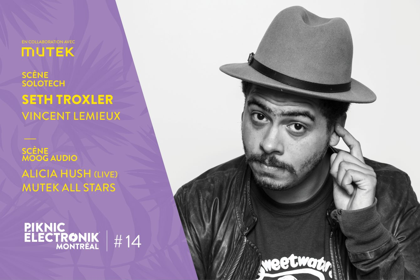 Seth Troxler - Live at Piknic Electronic (Montreal, Canada) - 27-Aug-2017