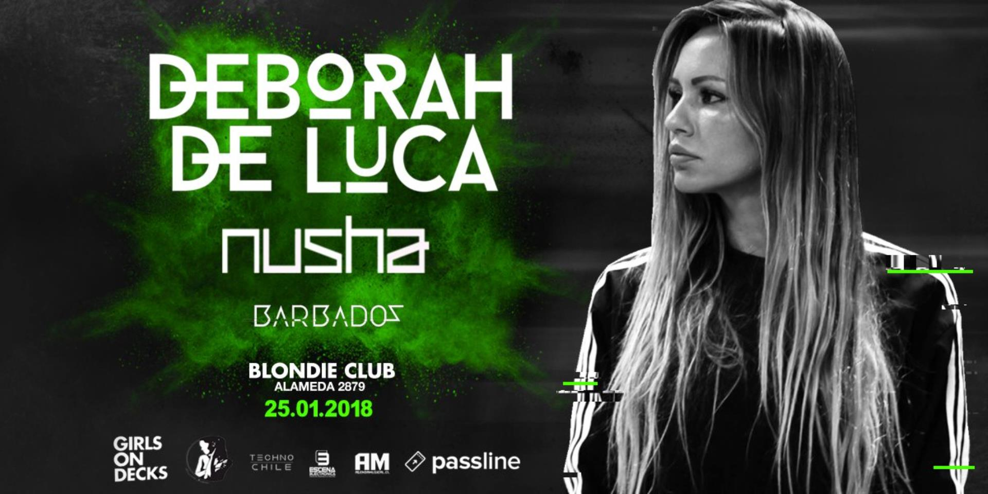 Deborah de Luca - Live At Blondie (Chile) - 25-Jan-2018