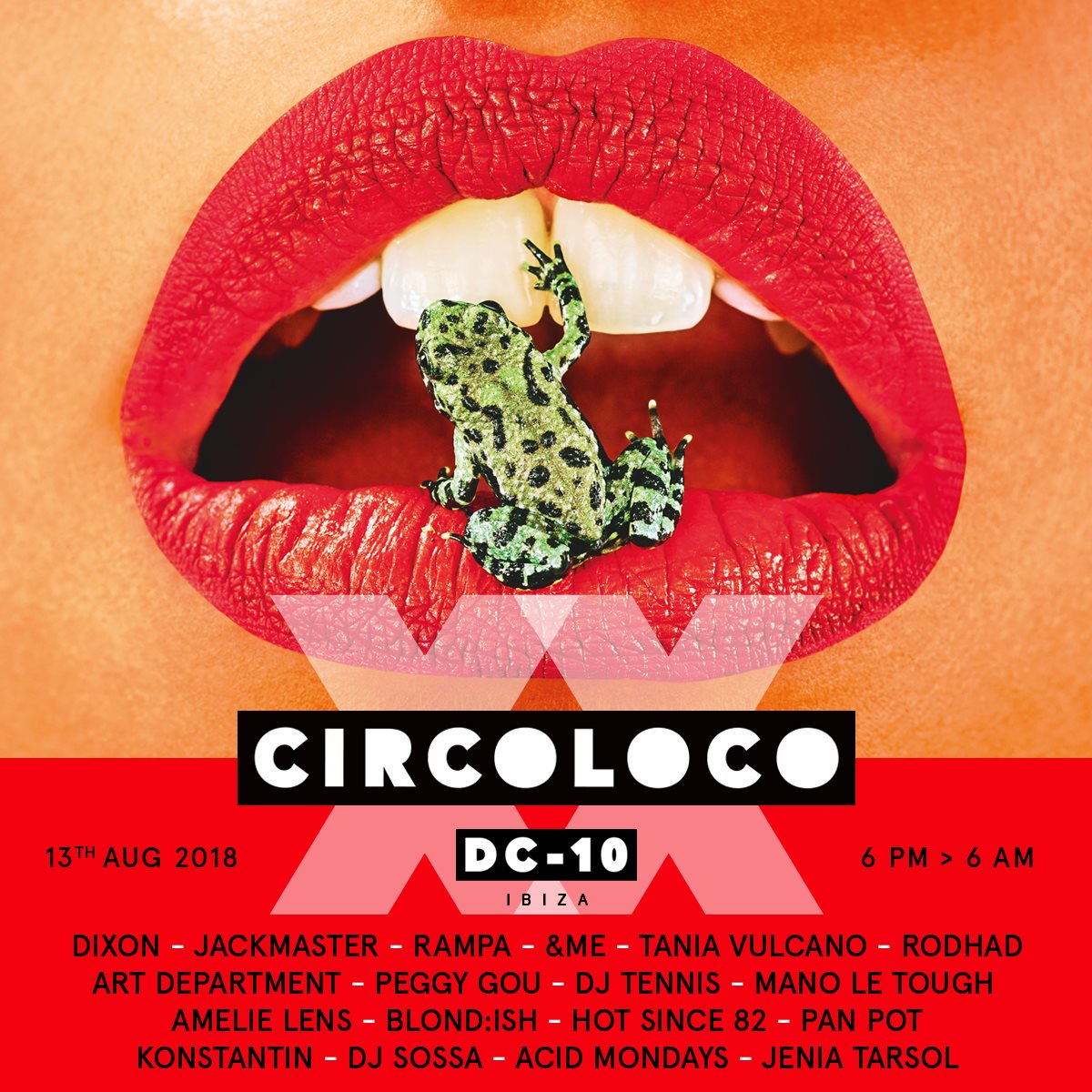 Hot Since 82 - Live at Circoloco, DC10 (Ibiza) - 13-Aug-2018