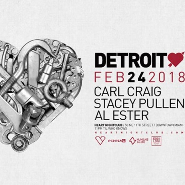 Stacey Pullen - Live At Heart (Miami) - 24-Feb-2018