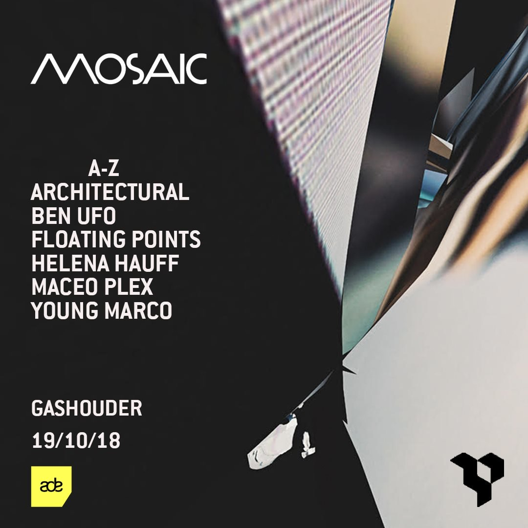 Maceo Plex - Live at Awakenings x Mosaic, Gashouder (ADE 2018) - 19-Oct-2018