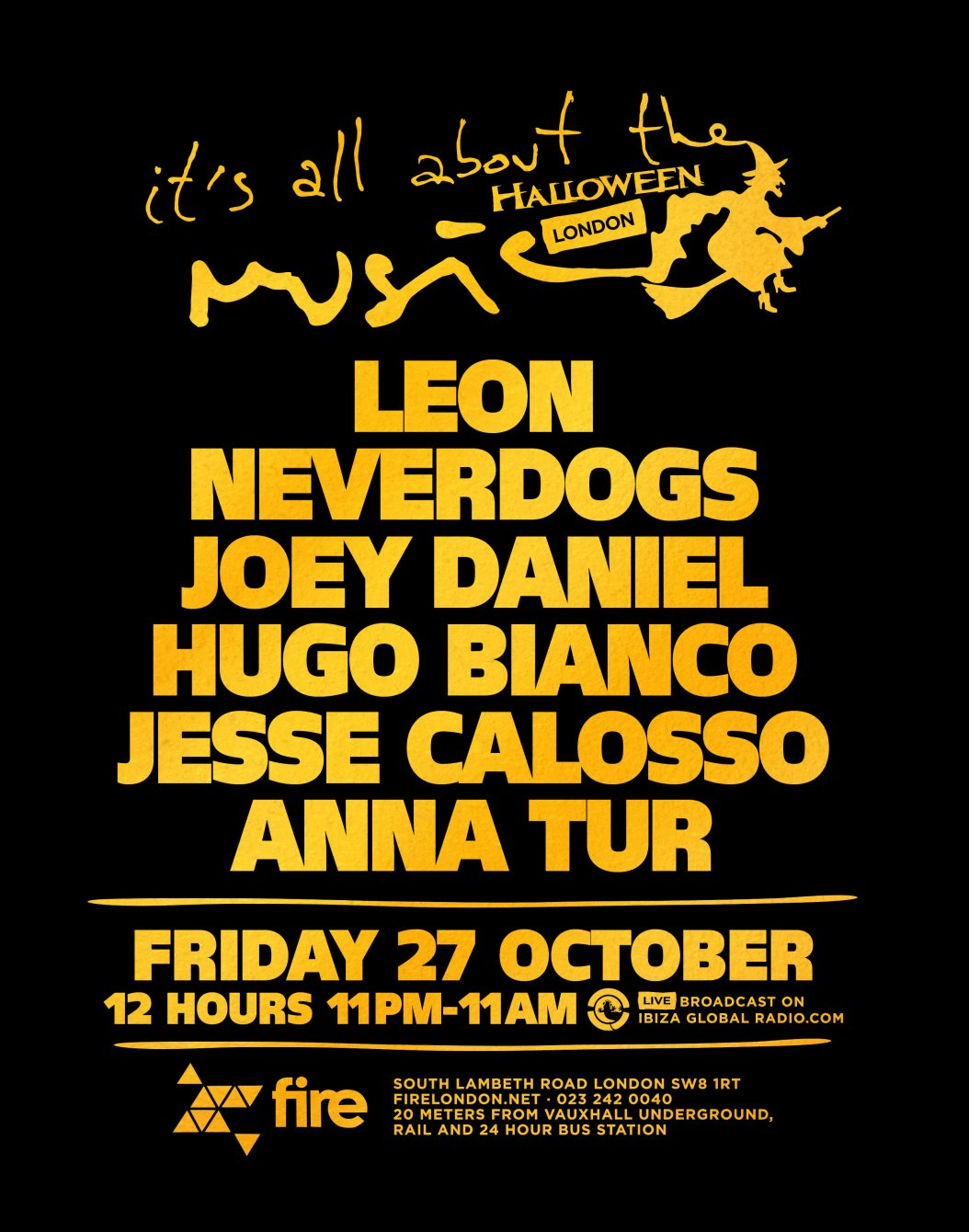 Neverdogs - Live At It's All About Music Halloween Special, Fire ...