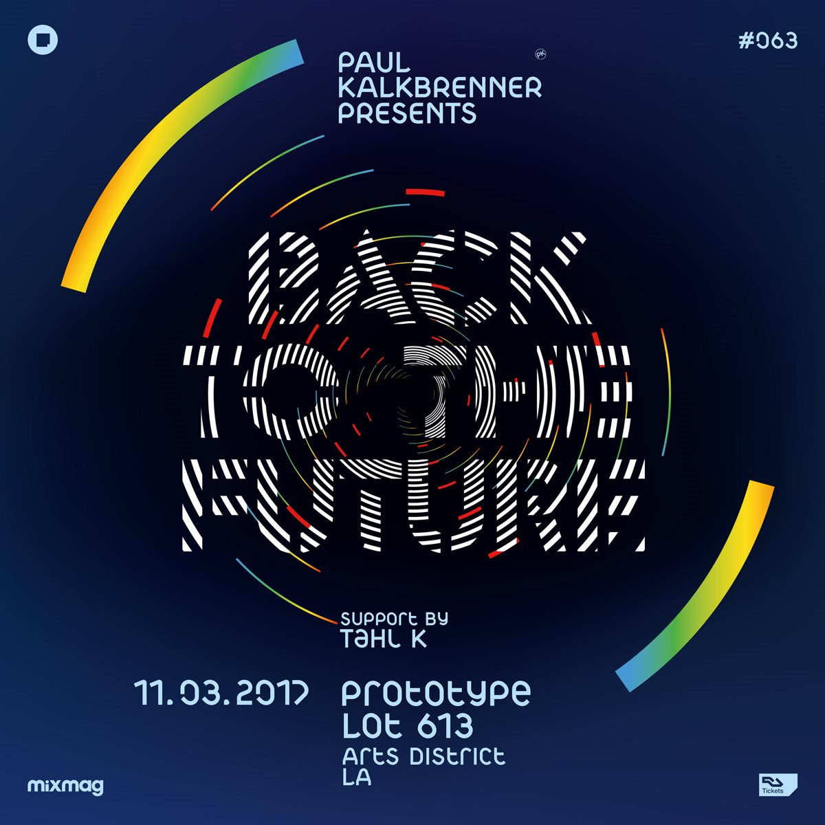 Paul Kalkbrenner - Live At Prototype 063 presents Back To The Future, Lot 363 (Los Angeles) [HD1080p] - 03-Nov-2017
