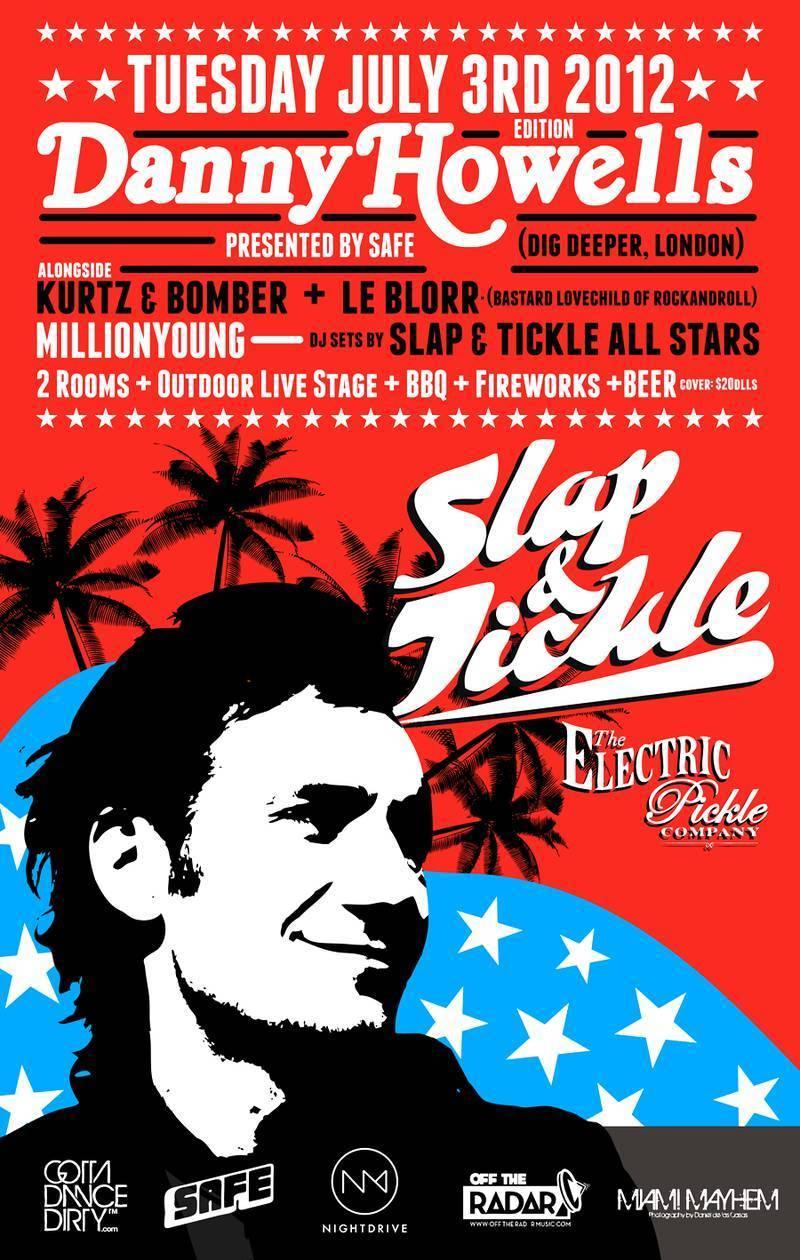 Danny Howells - Live at Electric Pickle (Miami) - 03-Jul-2012