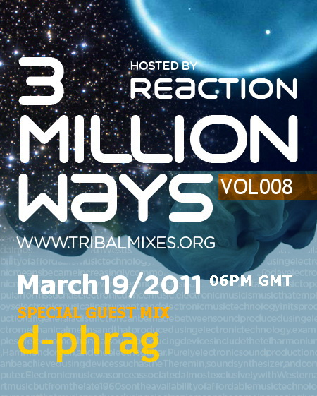 3 Million Ways :: Episode 008 (aired on March 19th, 2011) banner logo
