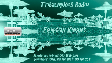 Electronic Visions :: Egyptian Knight (aired on September 10th, 2010) banner logo