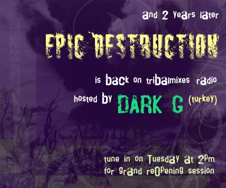 Epic Destruction :: grand Re-Opening!!! (aired on January 5th, 2010) banner logo