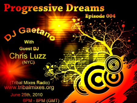 Progressive Dreams :: Episode aired on June 25, 2010, 6pm banner logo