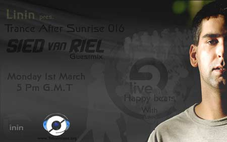 Trance After Sunrise :: Episode aired on March 1, 2010, 5pm banner logo