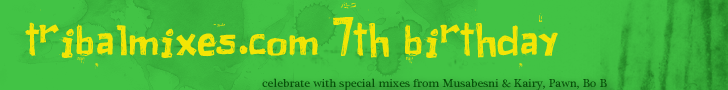 TribalMixes presents :: Tribalmixes.com 7th Anniversary Celebration (aired on May 5th, 2012) banner logo