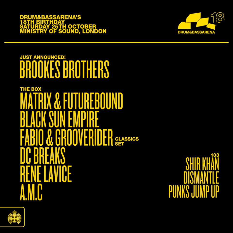 A M C - Live at Ministry of Sound, London - 25-Oct-2014