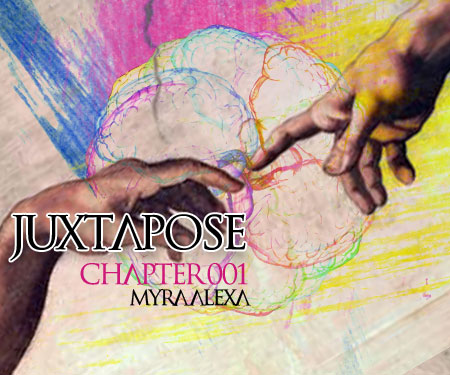 JUXTAPOSE :: Episode 008 (aired on January 28th, 2014) banner logo